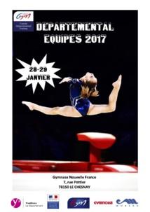 GAF - Résultats Départemental équipes 28-29 janvier 2017