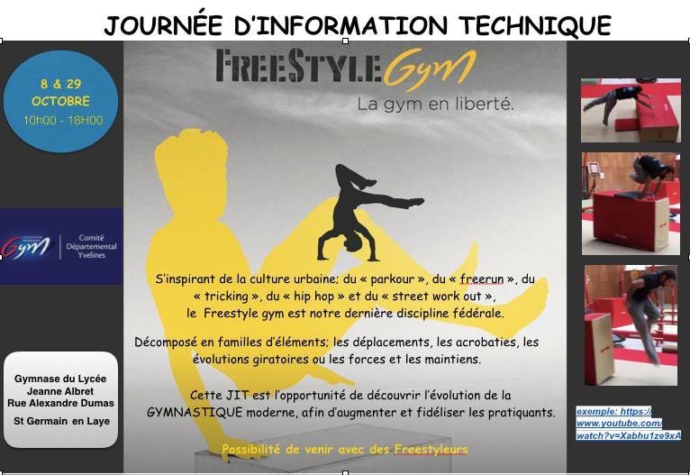 Formation FREESTYLE GYM
