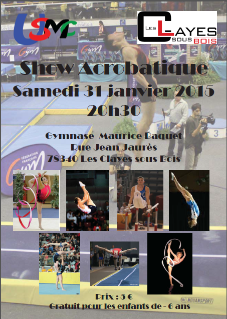 Show Acrobatique Les Clayes-Sous-Bois