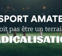 """Invitation Colloque """"Sport et radicalisation"""" - 30/11/17"""