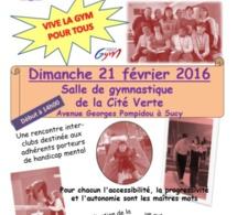 Regroupement Interclubs Gym Adaptée - 21/02/2016