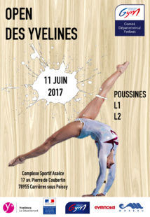 GAF - Résultats Open des Yvelines 2017