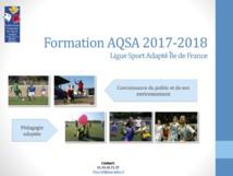 Formation Sport Adapté 2017-2018