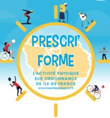 Lancement de « PRESCRI'FORME : l'activité physique sur ordonnance en Île-de-France »