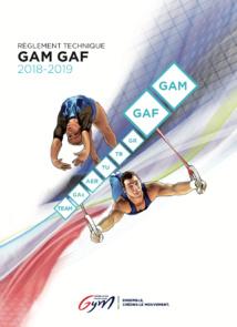 REGLEMENTATION TECHNIQUE GAM/GAF 2018-2019