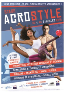 Stage ACROSTYLE - 4-8/07/2016