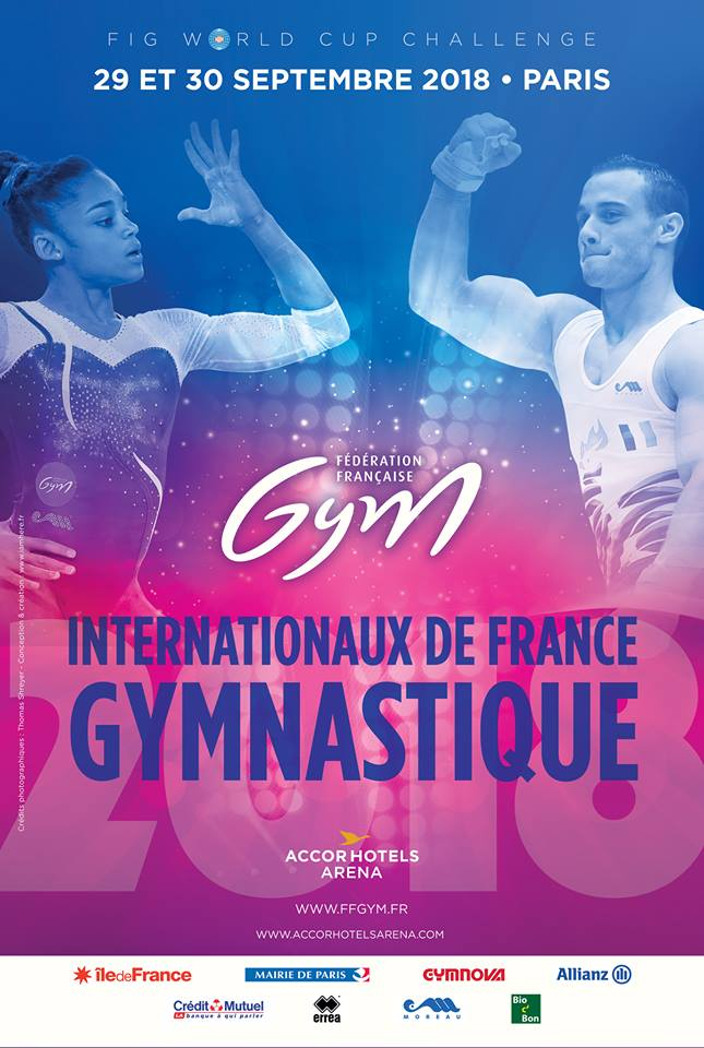 GAM-GAF : BILLETTERIE DES INTERNATIONAUX DE FRANCE DE GYMNASTIQUE