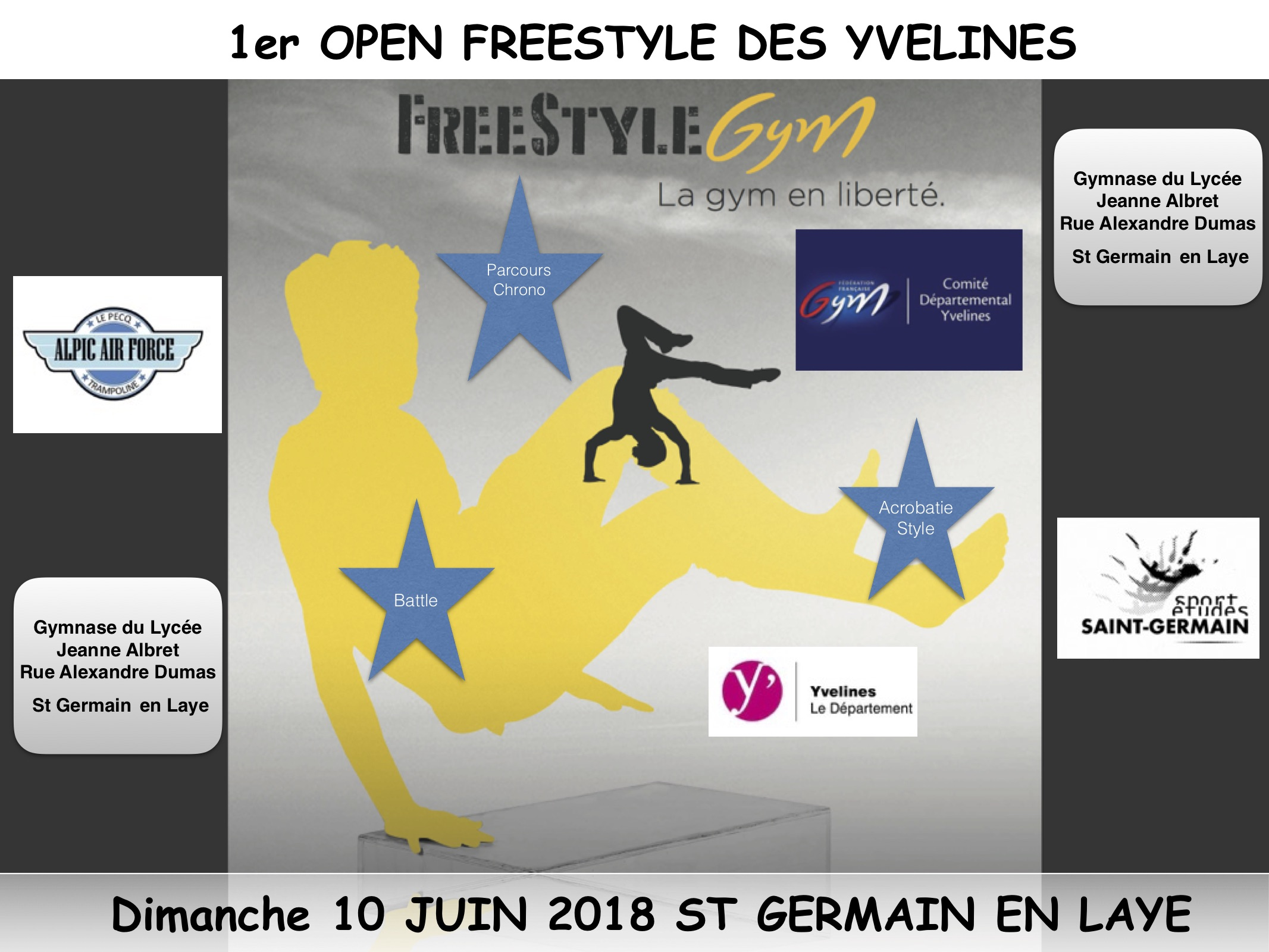 1° OPEN FREESTYLE DES YVELINES