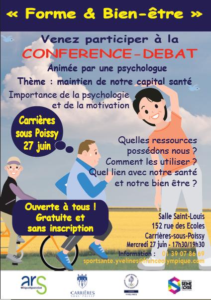 CDOS 78 - conférence débat du 27 juin à Carrières sous Poissy