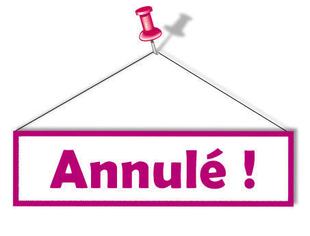GR: Annulation CPS du samedi 09 janvier 2016