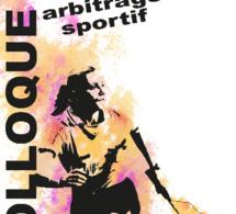 INVITATION COLLOQUE FEMME ET ARBITRAGE SPORTIF - 12/05/2017