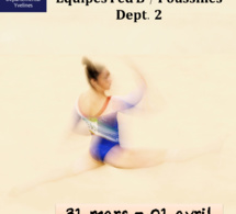 GAF - NOUVEL Organigramme DEFINITIF Equipes FED B / FED B Poussines - Dept 2