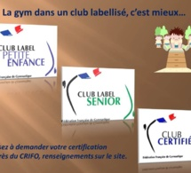 Les Labels de la FFGYM