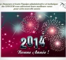 Rémy Demeure et toute son équipe vous souhaitent une bonne année 2014!