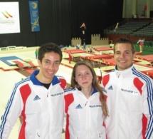 Championnats d'Europe Trampoline et Tumbling: des Yvelinois au top!!!